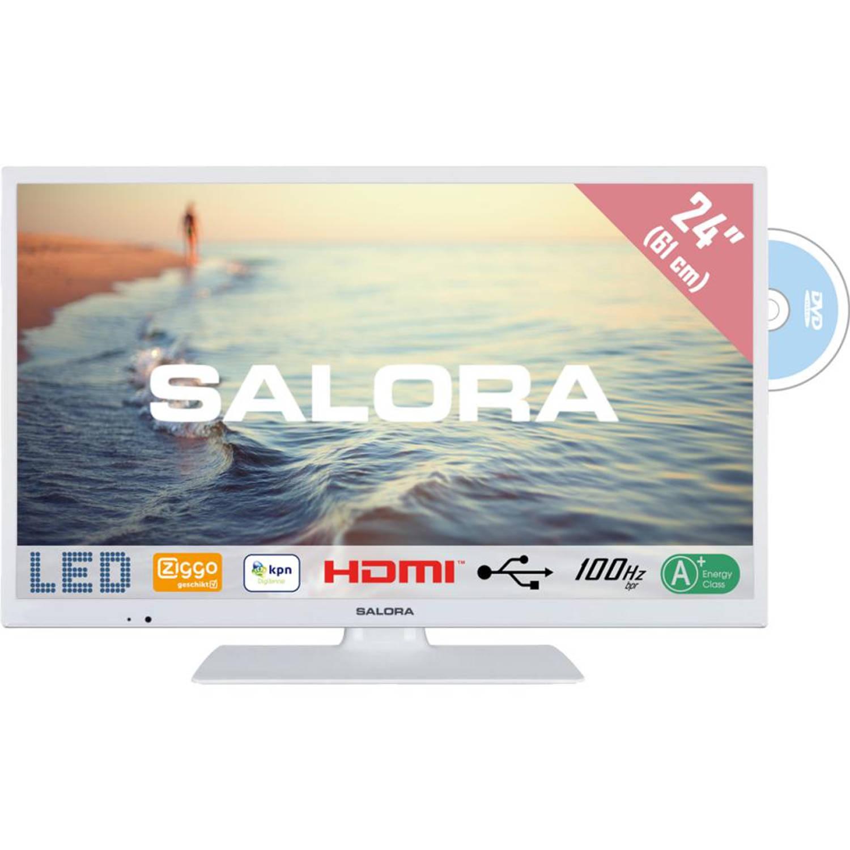 Salora televisie LED DVD 24HDW5015