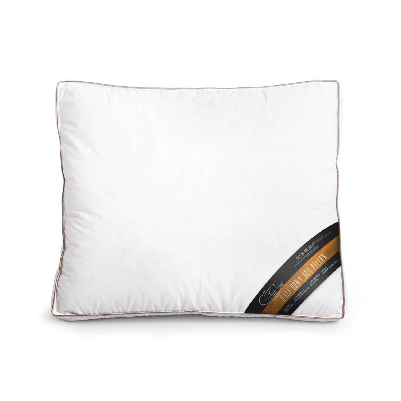 Sleeptime half down boxkussen white - 50 x 60 x 8 - wit