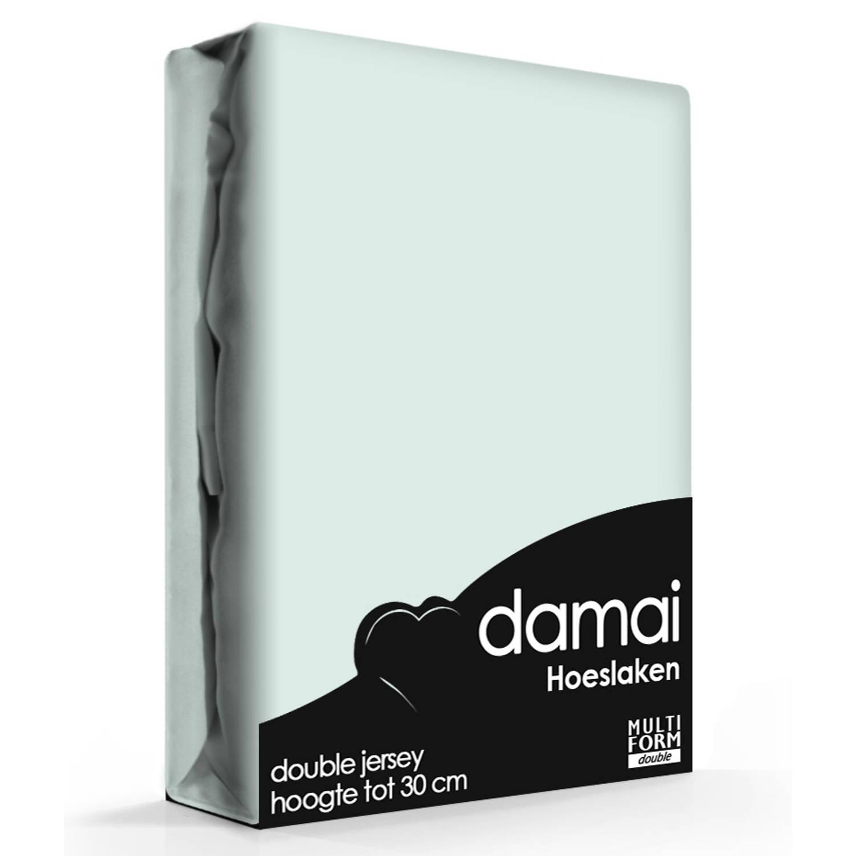 Damai Multiform Double Jersey Hoeslaken Aqua-80/90 X 210/220 Cm