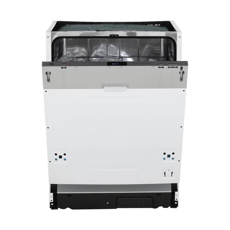 ETNA VW147ZIL vaatwassers 60 cm - Zilver