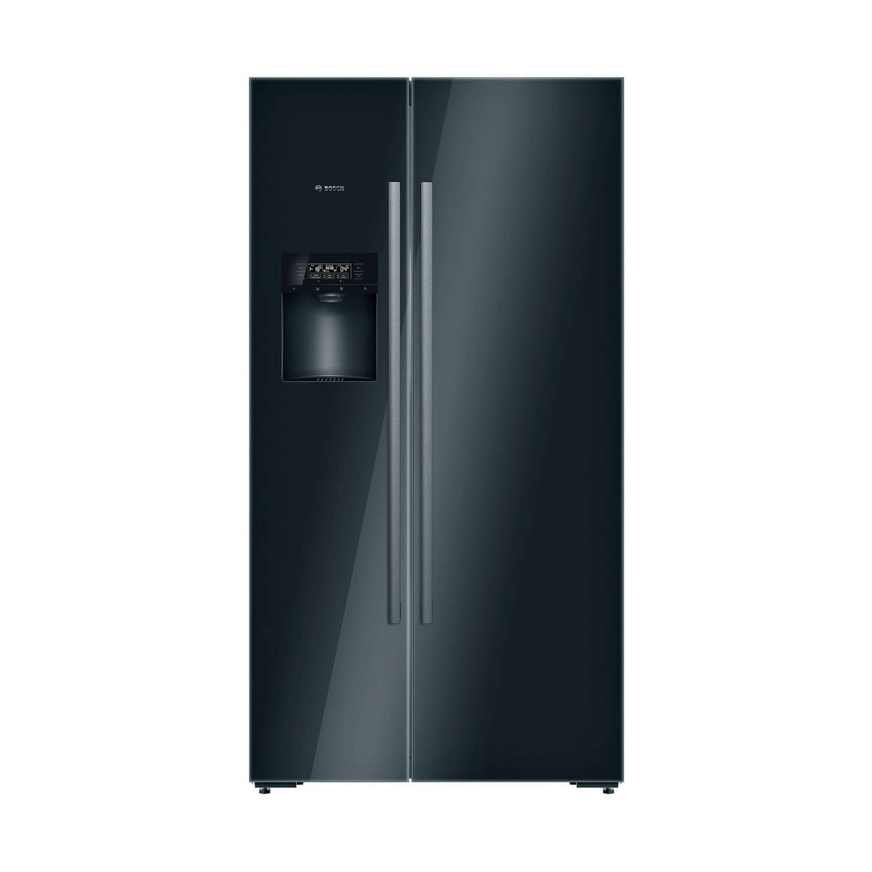 Bosch Serie 8 KAD92SB30 amerikaanse koelkasten – Zwart
