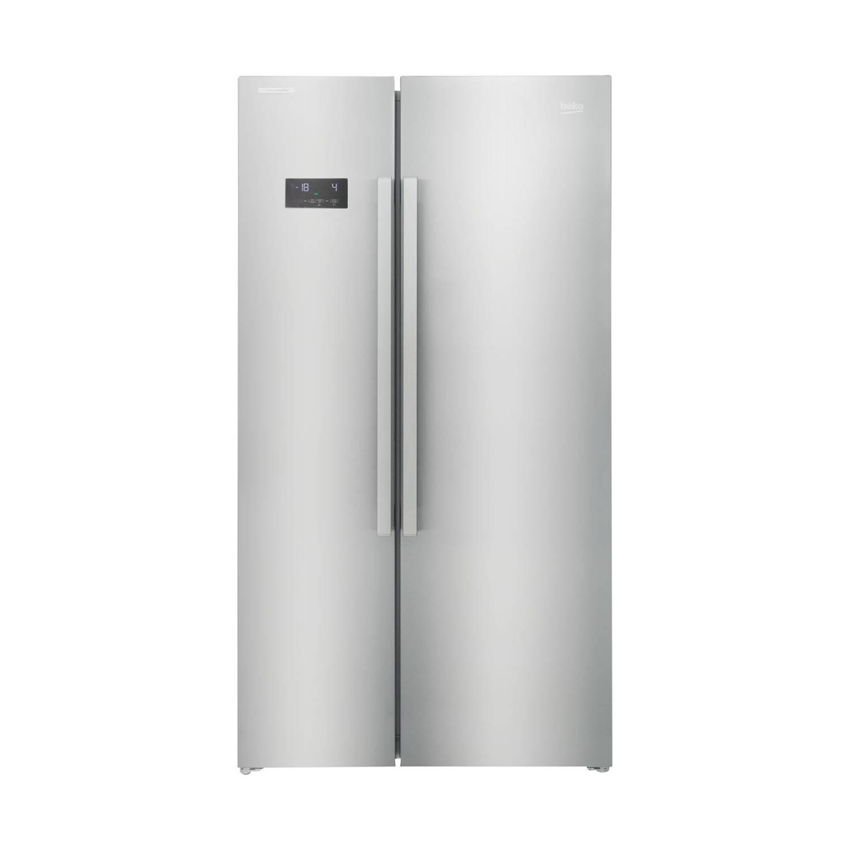 Beko GN163120X amerikaanse koelkasten - Roestvrijstaal