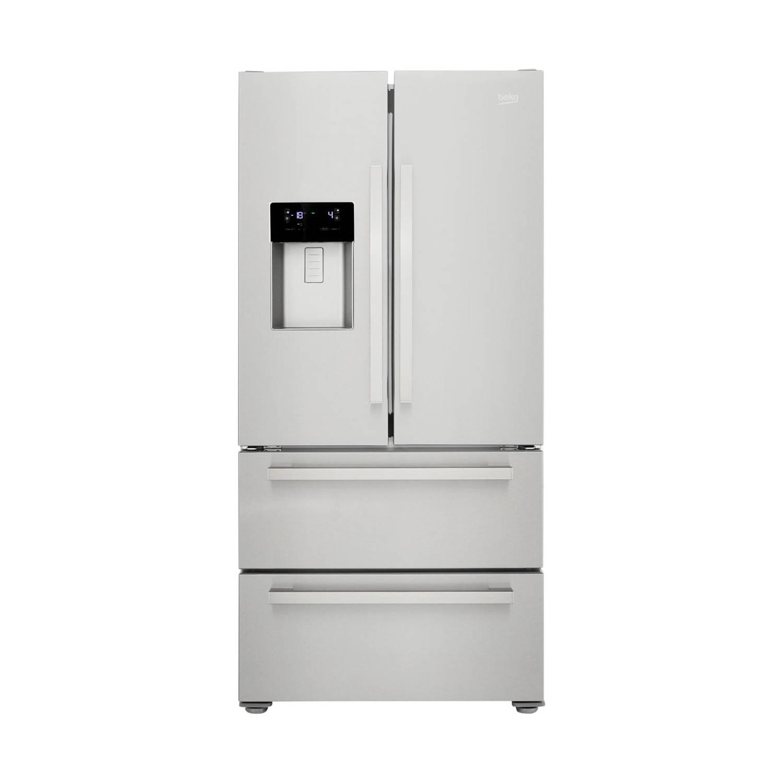 Beko GNE60530DX amerikaanse koelkasten - Roestvrijstalen effect