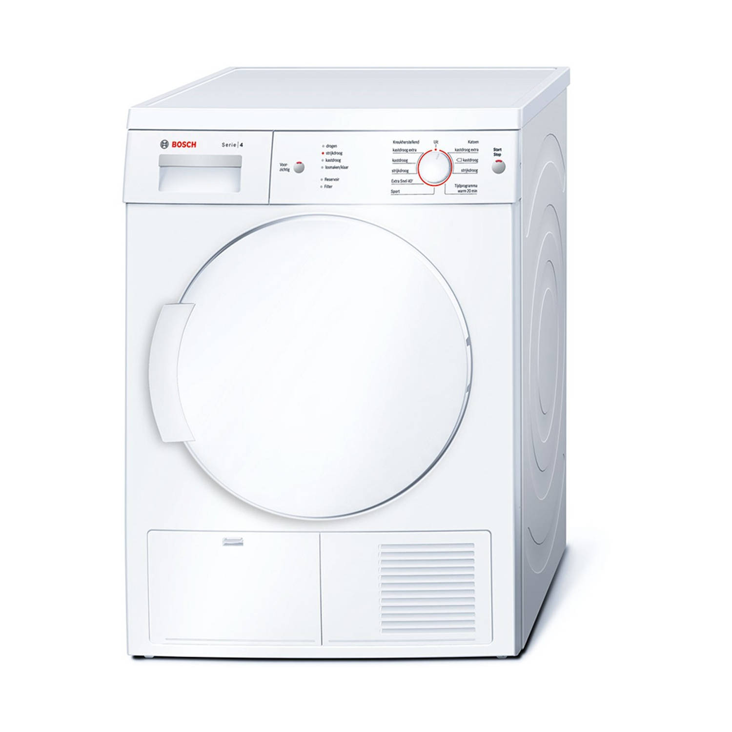 Bosch Serie 4 WTE84105NL condensdrogers - Wit