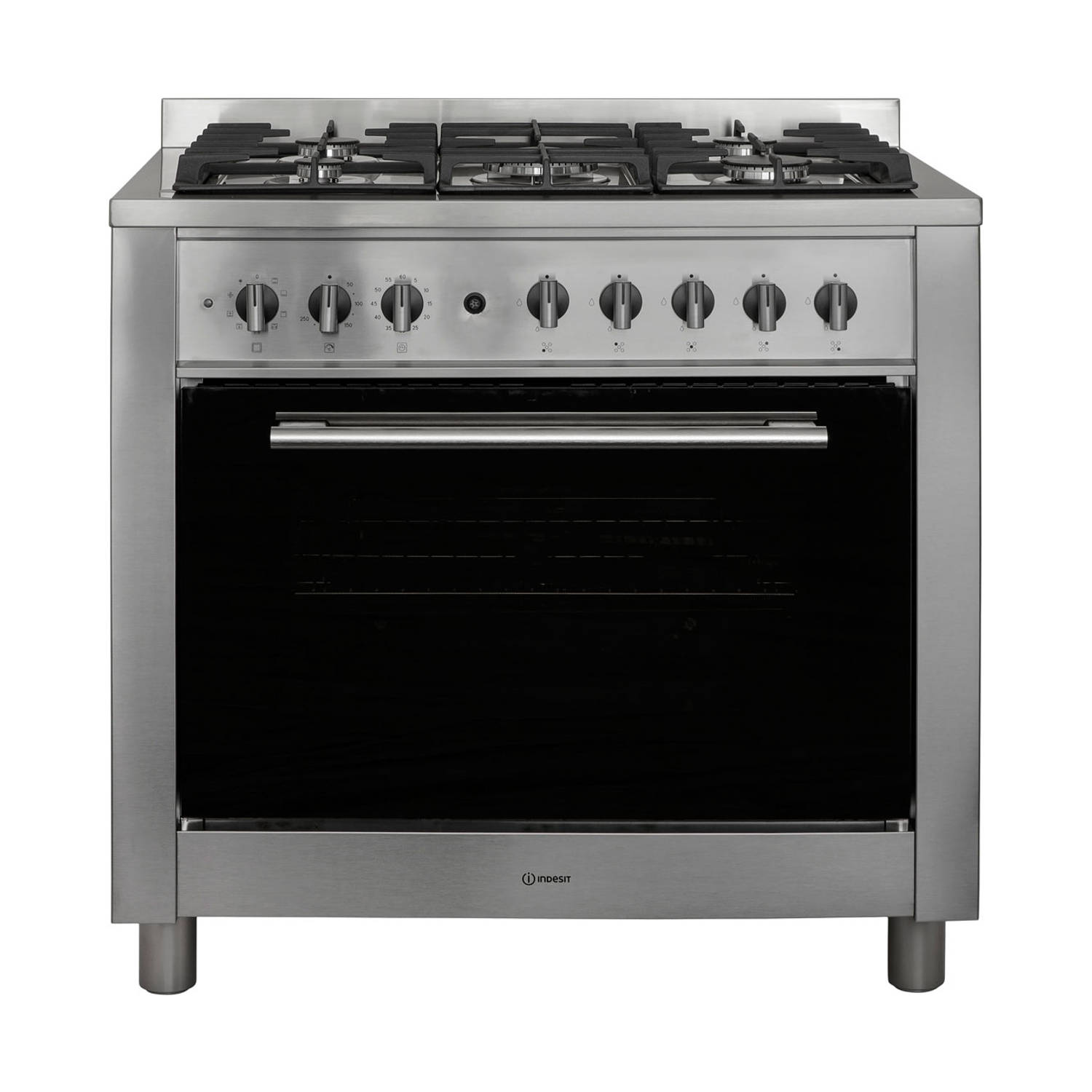 Indesit KP9F91S(X)/NL S fornuizen - Roestvrijstaal