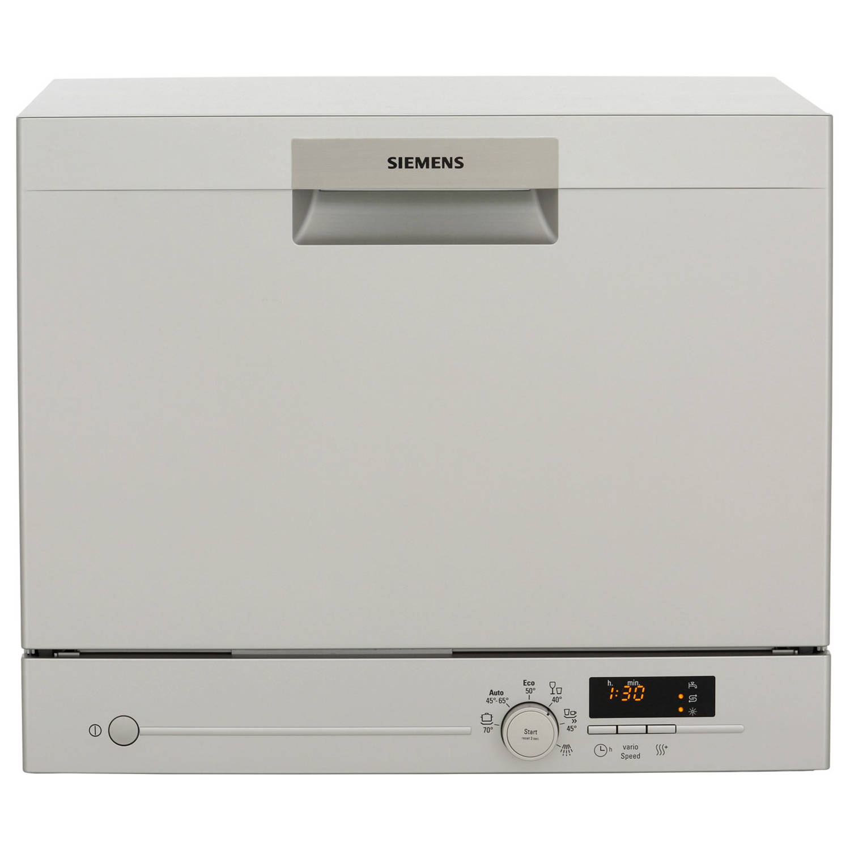 Siemens sk26e821eu vaatwassers tafelmodel - roestvrijstalen effect