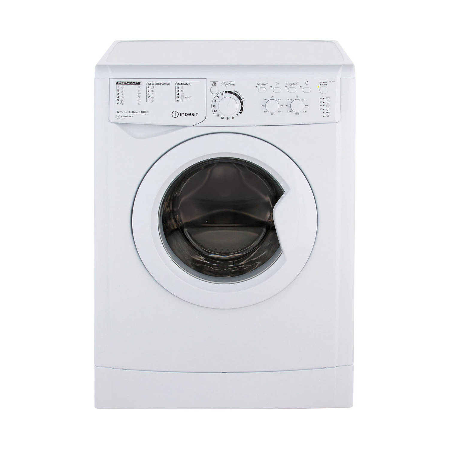 Indesit EWC 81483 W EU wasmachines - Wit