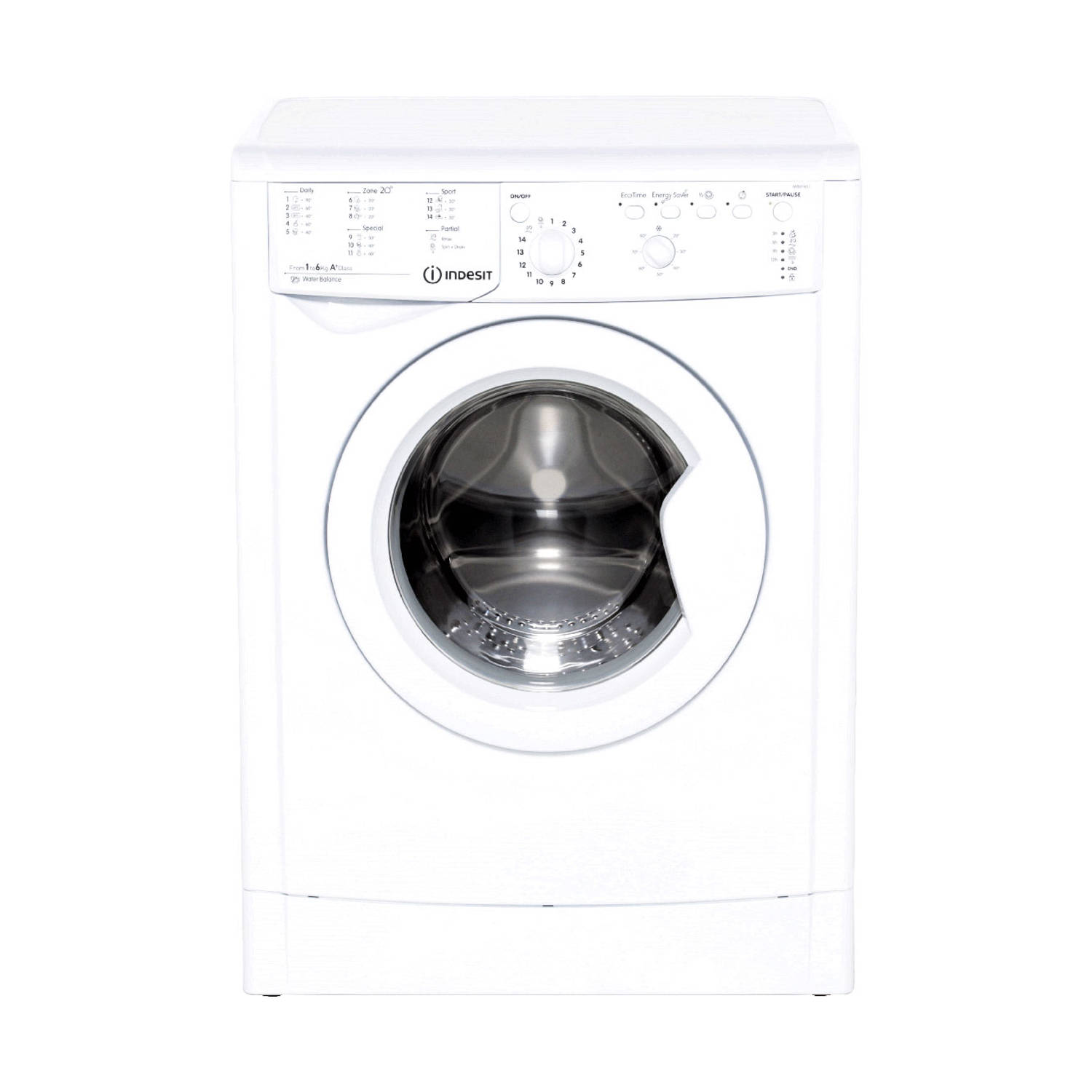 Indesit IWB 61451 C ECO EU wasmachines - Wit