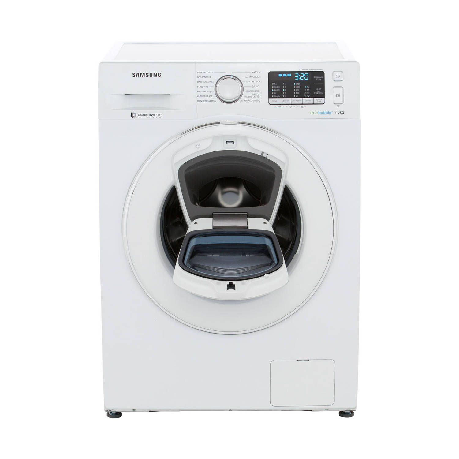 Samsung AddWash 5500 WW70K5400WW/EN wasmachines - Wit
