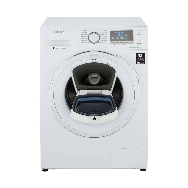 Samsung AddWash 6500 WW80K6405SW/EN wasmachines - Wit
