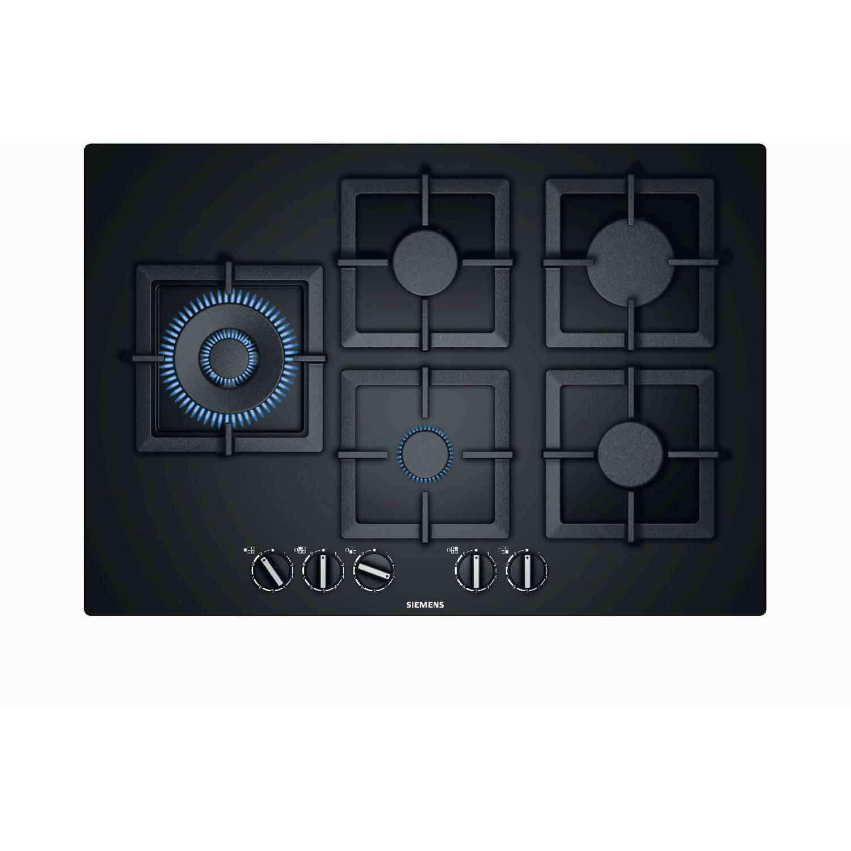 Siemens iQ500 EP7A6SB20N gaskookplaten - Zwart