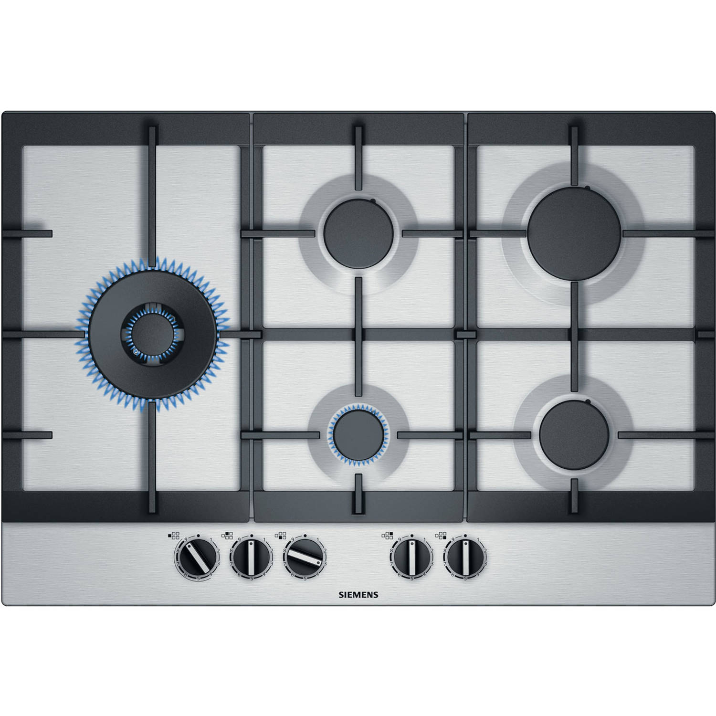 Siemens iQ500 EC7A5SC90N gaskookplaten - Roestvrijstalen effect
