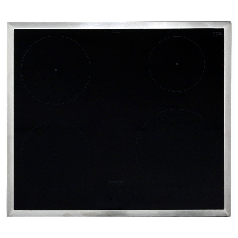Siemens eu645bef1e elektrische kookplaten - zwart