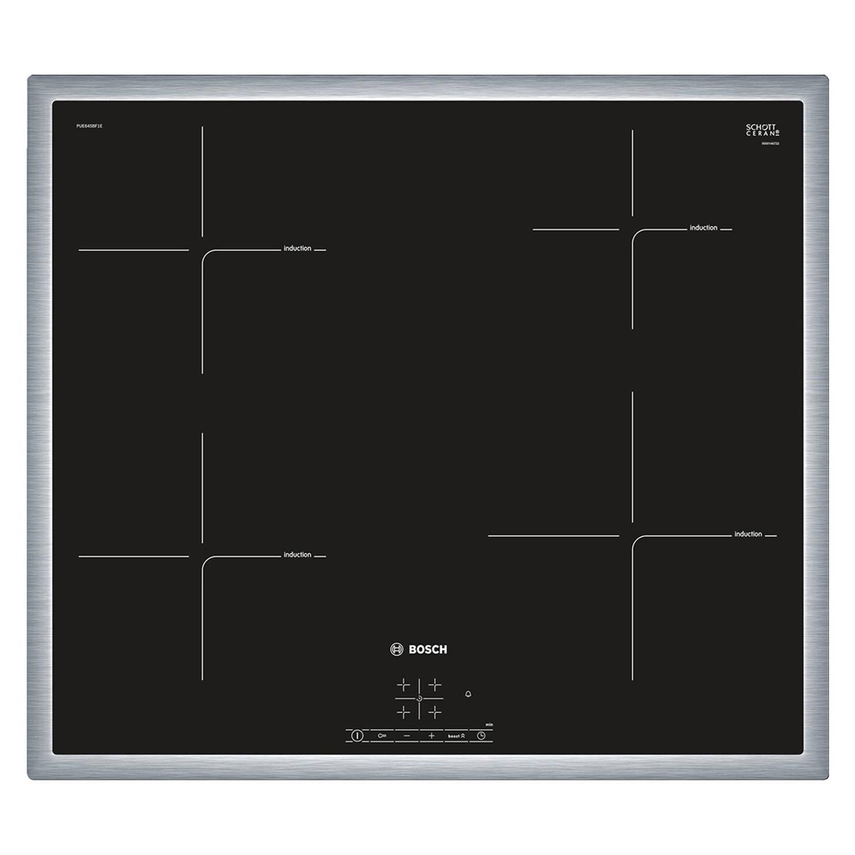 Bosch serie 4 pue645bf1e elektrische kookplaten - zwart