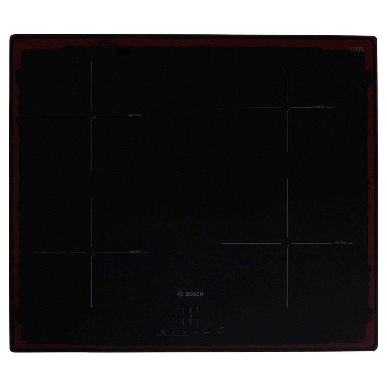 Bosch serie 4 pue611bf1e elektrische kookplaten - zwart