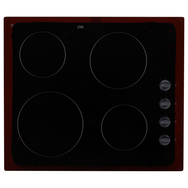ETNA T202ZT elektrische kookplaten - Zwart