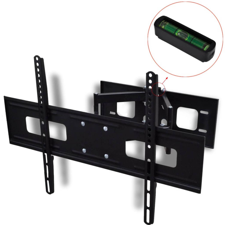 vidaXL TV-beugel met dubbele draaiarm voor aan muur 600x400 mm 37-70