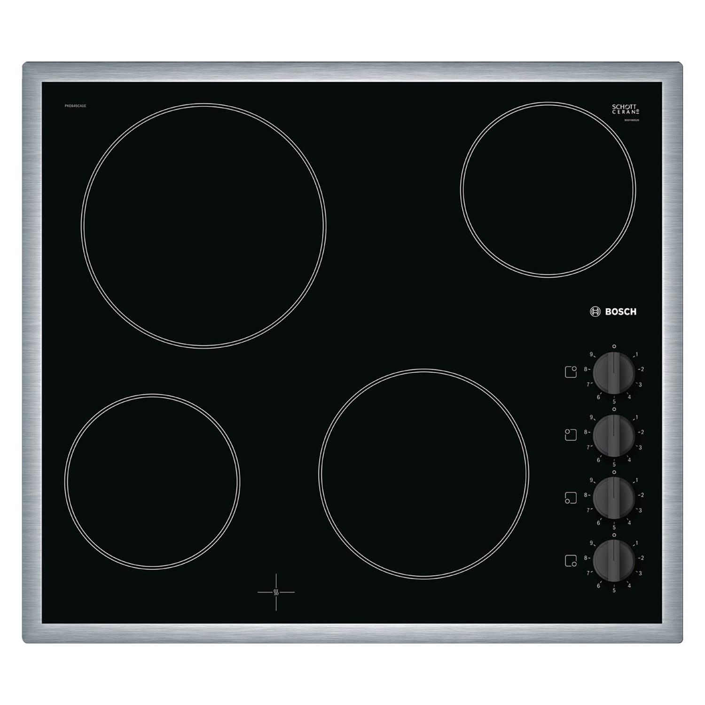 Bosch Serie 2 PKE645CA1E elektrische kookplaten - Zwart