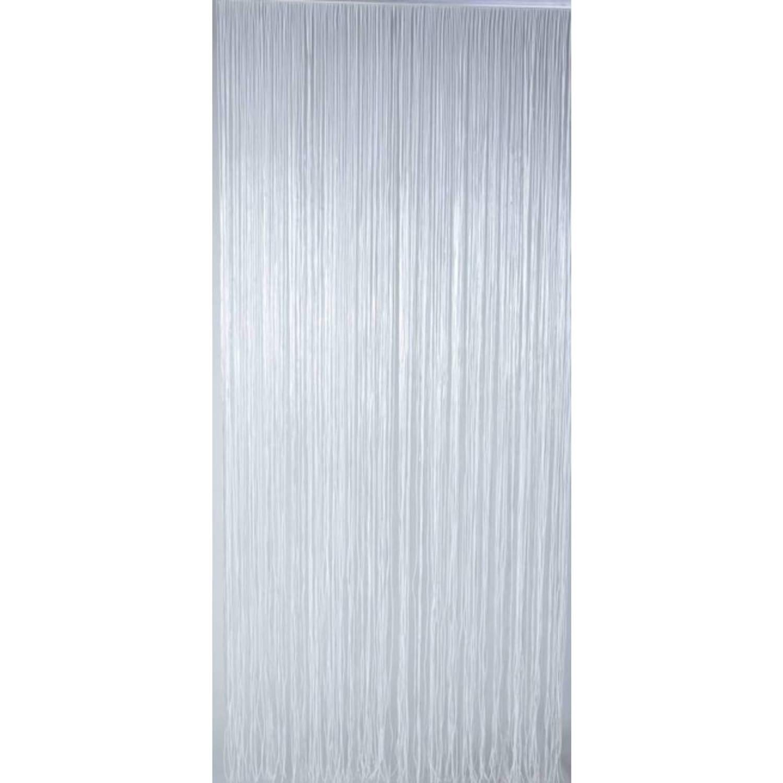 Lesli living vliegengordijn spaghetti wit pvc 90 x 220 cm | Blokker