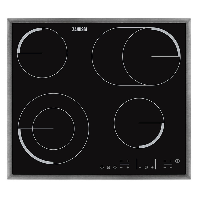 Zanussi ZEV6646XBA elektrische kookplaten - Zwart