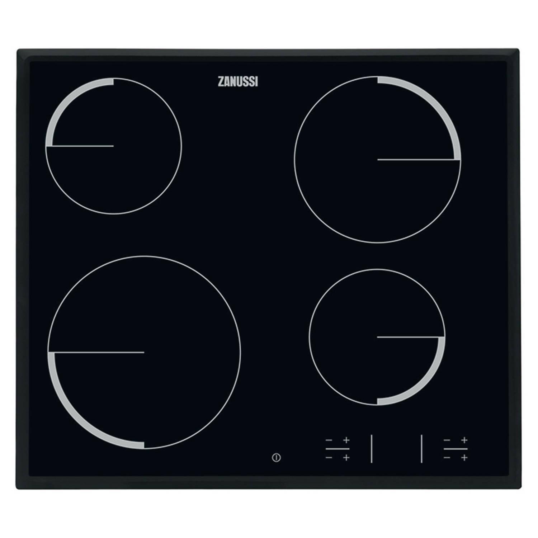 Zanussi ZEV6340NBA elektrische kookplaten - Zwart