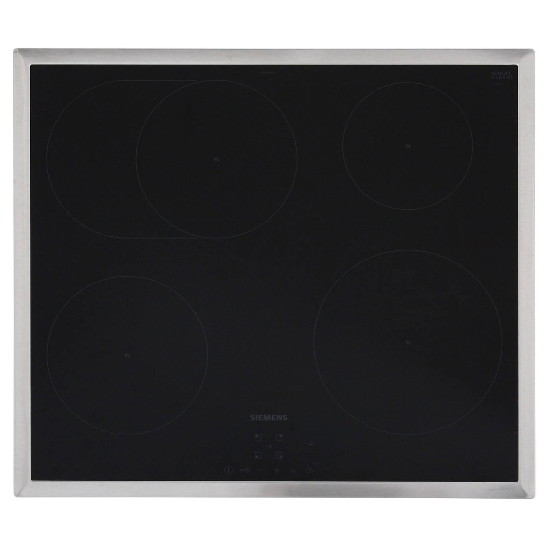 Siemens eh645bfb1e elektrische kookplaten - zwart