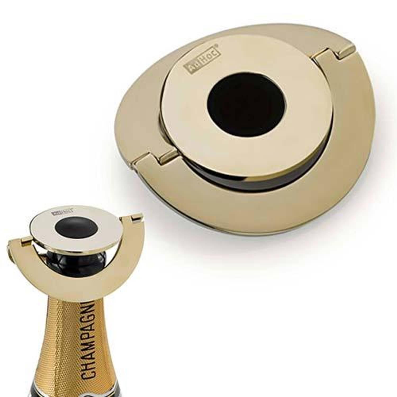 Afbeelding van Champ Deluxe Champagnestopper RVS Goud - AdHoc