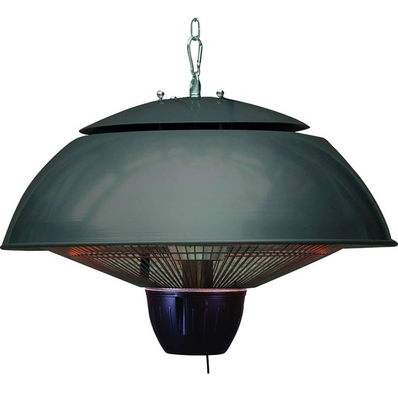Bordeaux Hangende Heater 43cm Royal Grey - 1500w