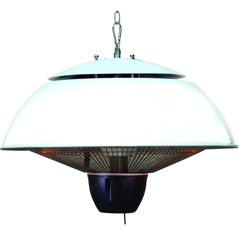 Bordeaux Hangende Heater 43cm Mat Wit - 1500w