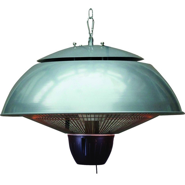 Bordeaux Hangende Heater 43cm Carbon Grey - 1500w