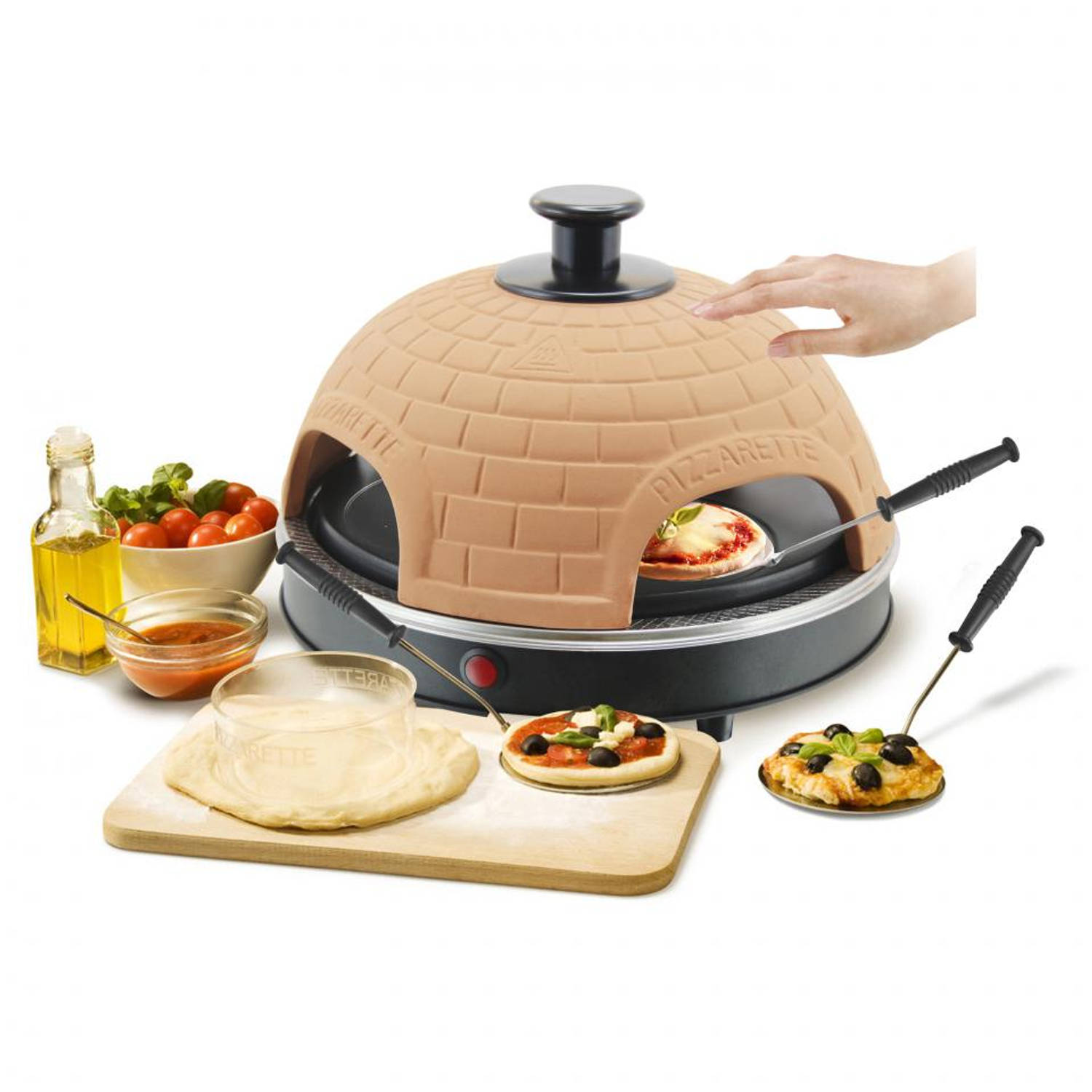 Emerio Pizzarette Cool Wall PO-112135 4 persoons