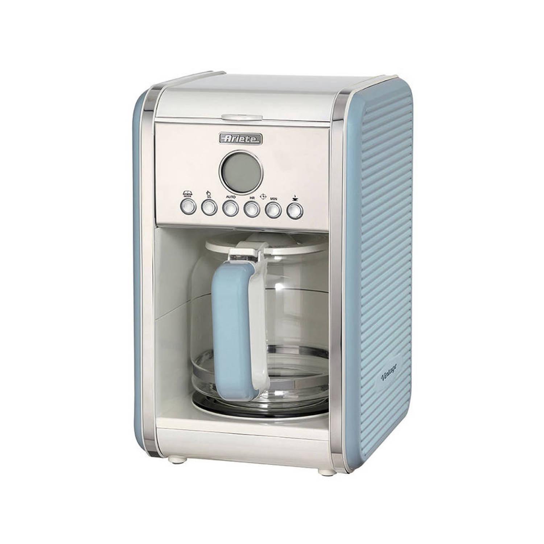 Ariete vintage koffiemachine - blauw