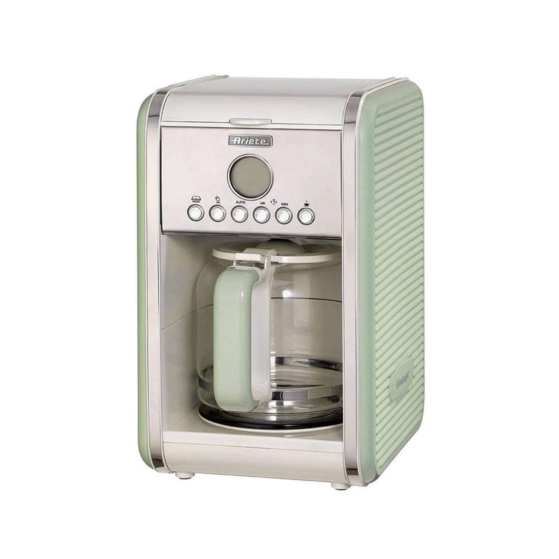 Ariete koffiemachine Vintage Retro - groen