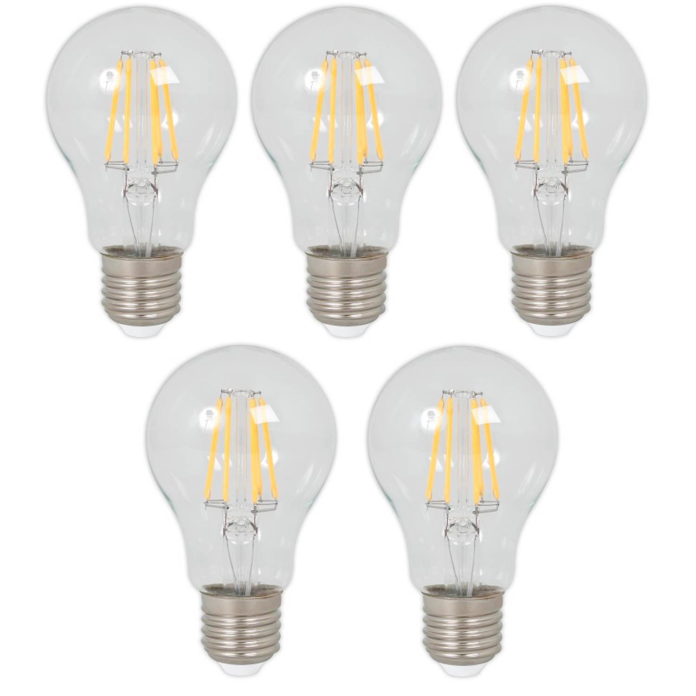Calex LED Filament lamp 5.5W E27 2700K (5 stuks)