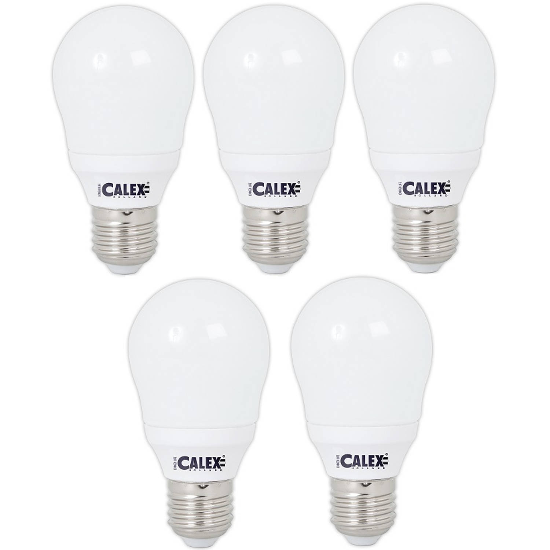 Calex LED Normaallamp A55 4.5-30W E27 6500K Daglicht (5 Stuks)