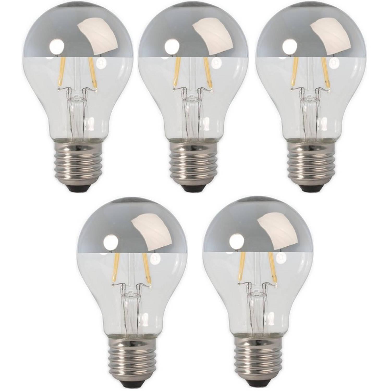 Calex LED Filament Kopspiegellamp 4-30W E27 A60 (5 Stuks)