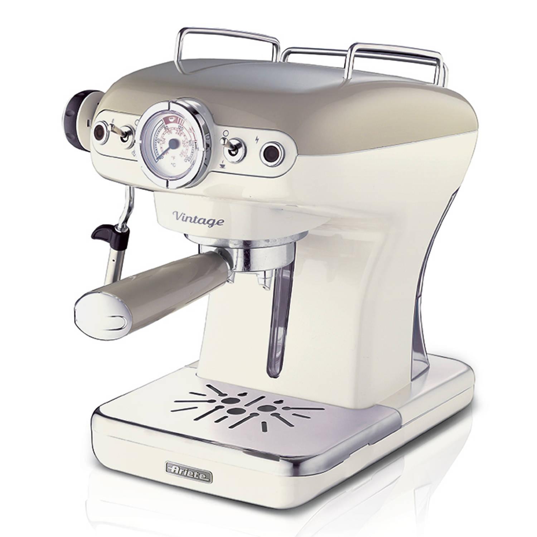 Ariete Espresso Machine Vintage Beige