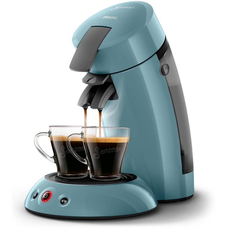 Korting Philips SENSEO® Original koffiepadmachine HD6553 20 lichtblauw