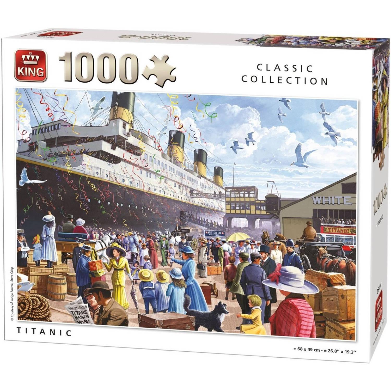 King legpuzzel Titanic 1000 stukjes