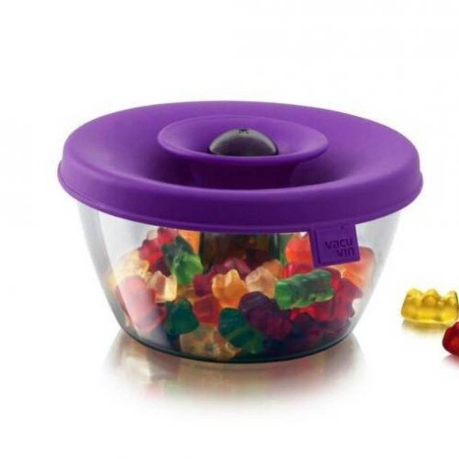 Popsome candy & nuts 0,45 liter, paars - tomorrow's kitchen