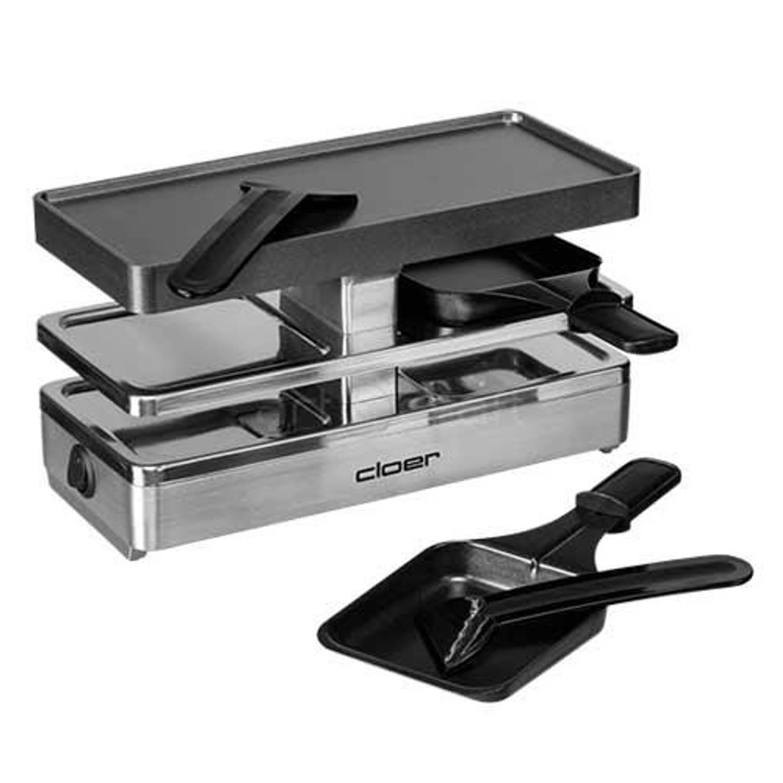 Mini raclette grill gourmetstel 6495 - cloer