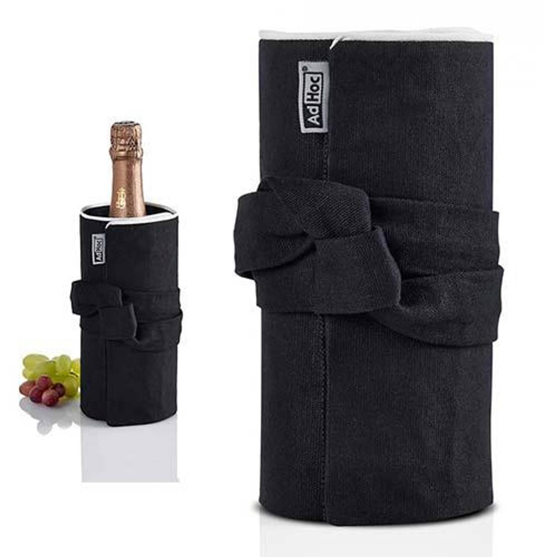 Afbeelding van Fresco wijnkoeler zwart/wit - adhoc