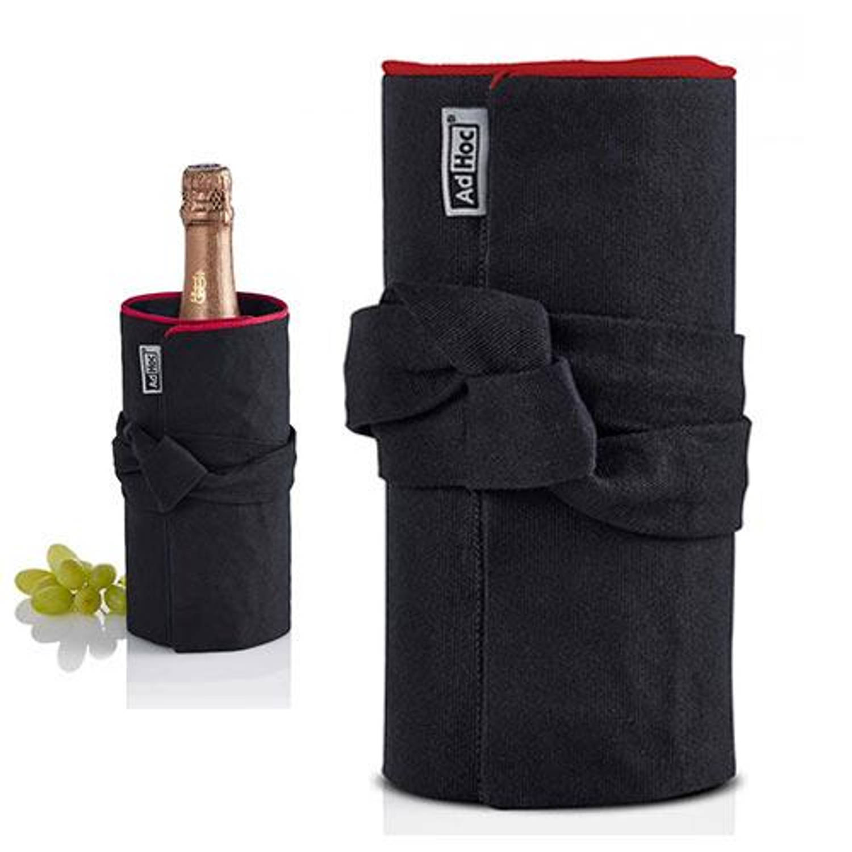 Afbeelding van Fresco wijnkoeler zwart/rood - adhoc