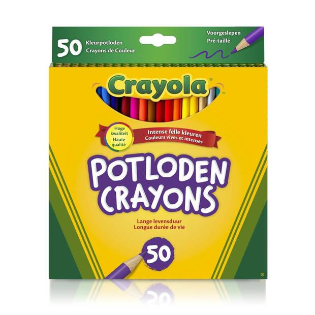 Crayola kleurpotloden 50 stuks
