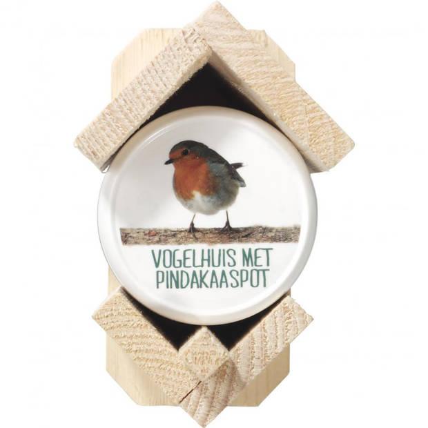 Vogelhuis Met Pindakaaspot