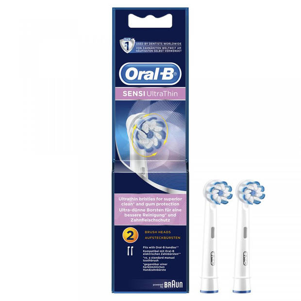 Oral-B opzetborstels Sensi Ultrathin Voor Tandenborstels X2