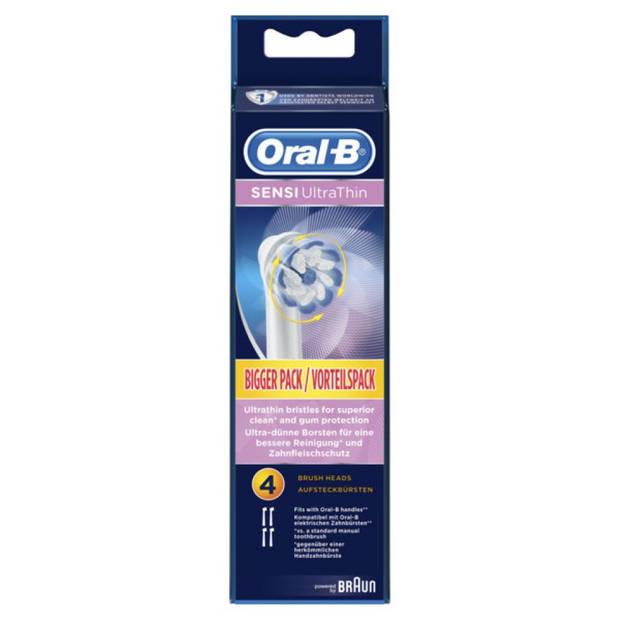Oral-B opzetborstels Sensi Ultrathin - 4 stuks