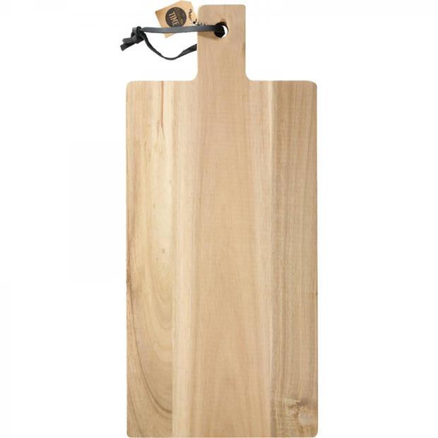 Serveerplank - acacia hout - 45 x 20 cm