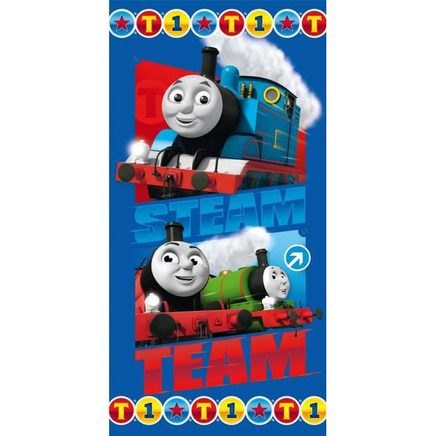 Steam Team - Strandlaken - 70 x 140 cm - Blauw