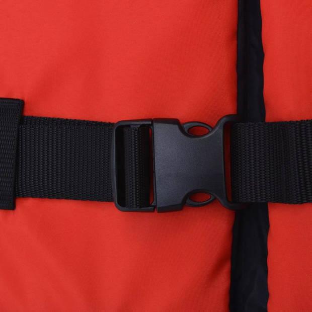 vidaXL Zwemvest 50 N 70-90 kg rood